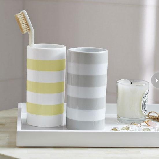 6 mẫu ống cắm bàn chải đánh răng phong cách cho nhà tắm 2