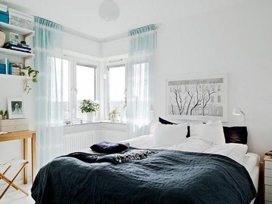 """Thiết kế giường ngủ """"tuy 2 mà 1"""" theo phong cách Scandinavia 1"""