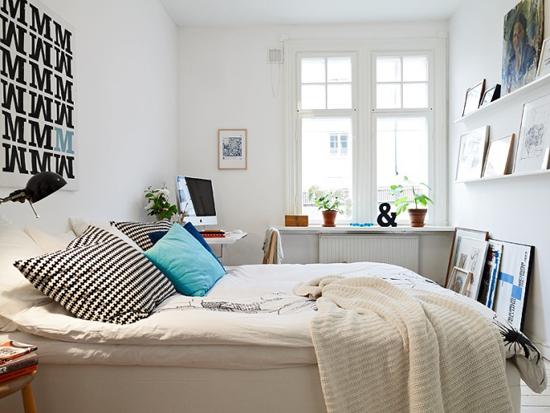 """Thiết kế giường ngủ """"tuy 2 mà 1"""" theo phong cách Scandinavia 2"""