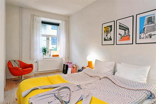"""Thiết kế giường ngủ """"tuy 2 mà 1"""" theo phong cách Scandinavia 3"""