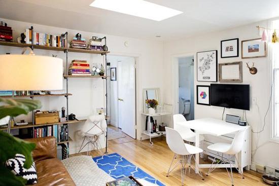 """Ngắm căn phòng nhỏ 15m² với thiết kế """"4 trong 1"""" cực chất 1"""
