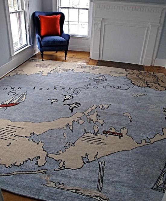 Thích thú với bộ sưu tập 25 mẫu thảm trải sàn đẹp và độc đáo 23