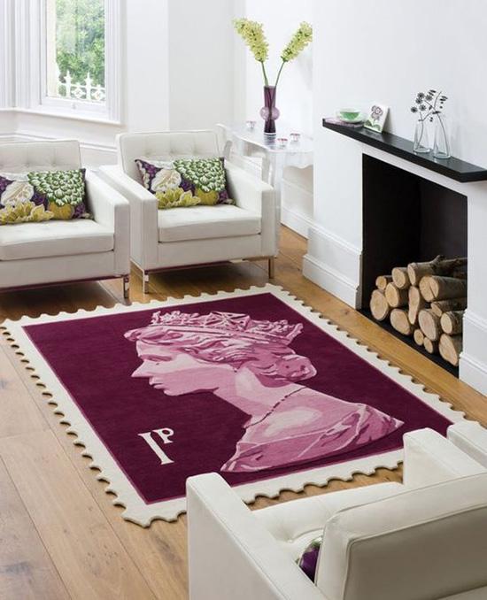 Thích thú với bộ sưu tập 25 mẫu thảm trải sàn đẹp và độc đáo 5