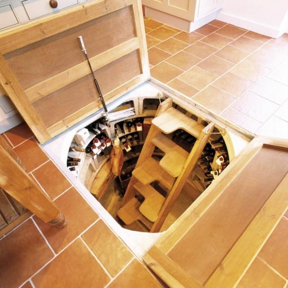 Nhà thêm độc đáo với hầm rượu bí ẩn 9