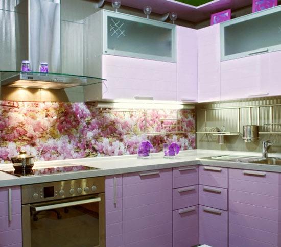 Những thiết kế bếp màu tím đẹp ngoài sức tưởng tượng 8