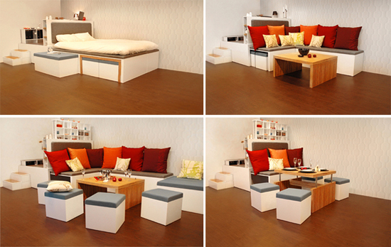17 món nội thất đa năng cho những căn phòng vỏn vẹn 10m² 10