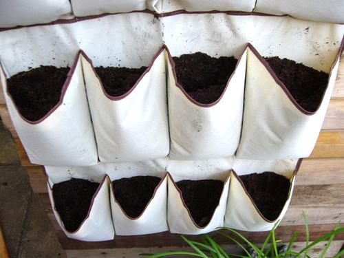 Ý tưởng làm vườn treo cực đơn giản 6