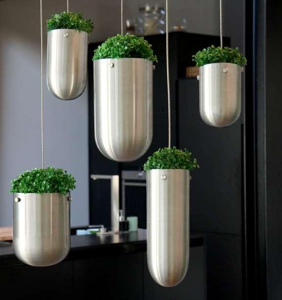 Ý tưởng làm vườn treo cực đơn giản 3