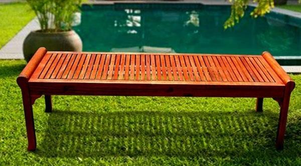 ghế gỗ sân vườn 13