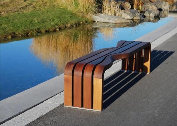 ghế gỗ sân vườn 2