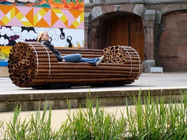 ghế gỗ sân vườn 3