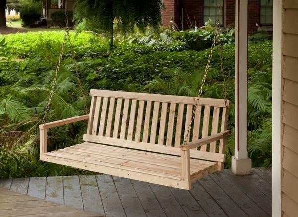 ghế gỗ sân vườn 4