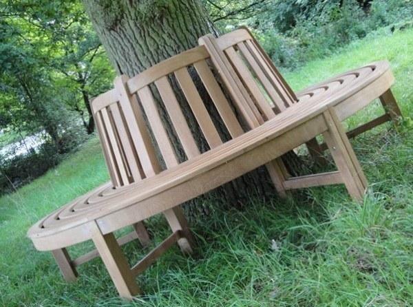 ghế gỗ sân vườn 6