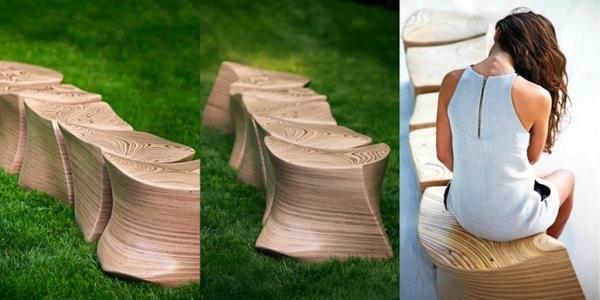 ghế gỗ sân vườn 9