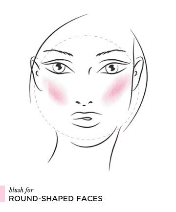 Cách đánh phấn má hồng theo từng dáng khuôn mặt 2