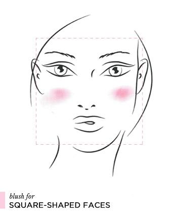 Cách đánh phấn má hồng theo từng dáng khuôn mặt 3
