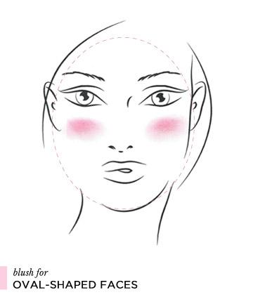 Cách đánh phấn má hồng theo từng dáng khuôn mặt 4