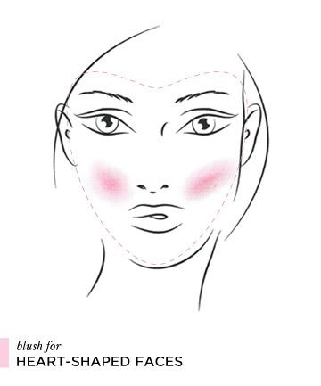 Cách đánh phấn má hồng theo từng dáng khuôn mặt 5