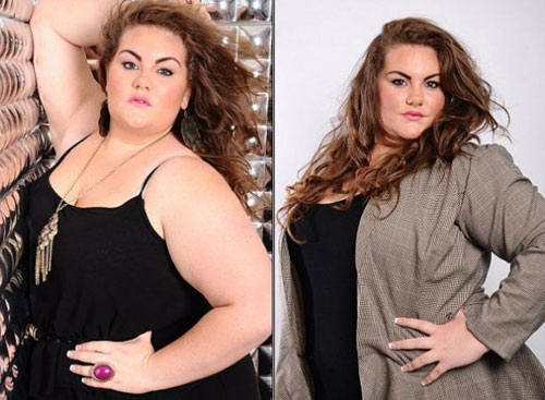 Hoa hậu béo nước Anh khoe những thân hình ngoại cỡ 5