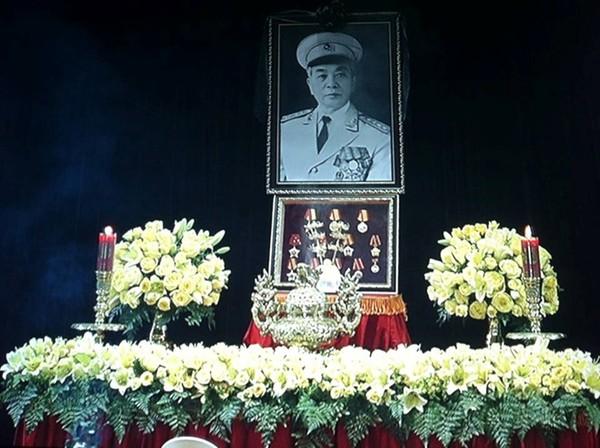 Những hình ảnh xúc động trong ngày Quốc tang Đại tướng 1
