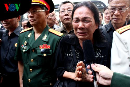 Những hình ảnh xúc động trong ngày Quốc tang Đại tướng 5