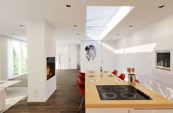 Sự kết hợp tuyệt diệu của màu trắng và chất liệu gỗ 10