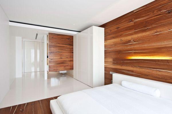 Sự kết hợp tuyệt diệu của màu trắng và chất liệu gỗ 12