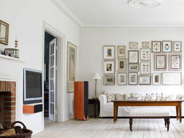 Sự kết hợp tuyệt diệu của màu trắng và chất liệu gỗ 4