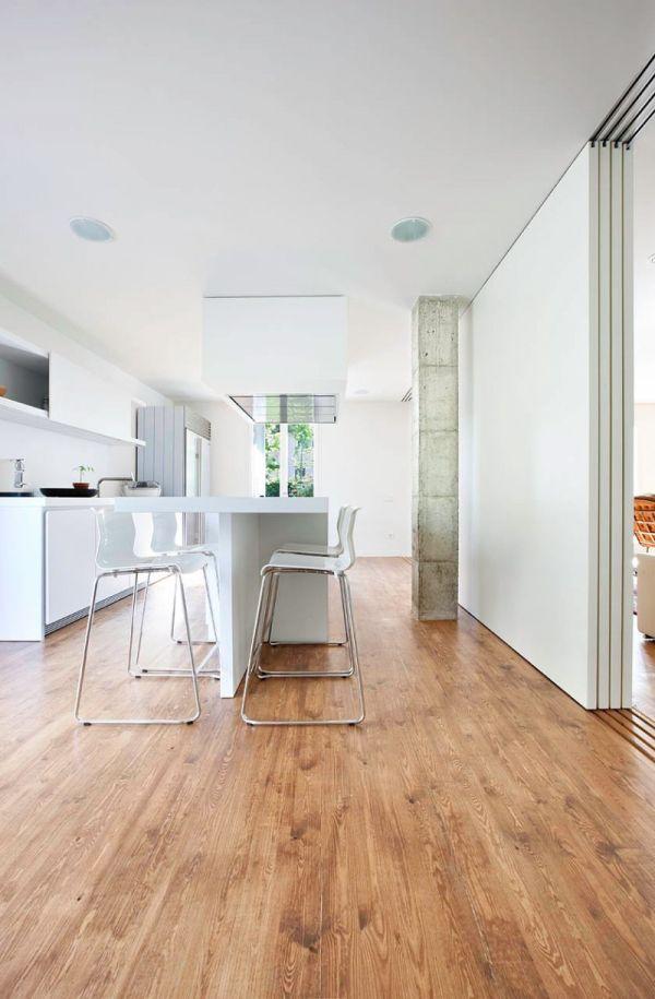 Sự kết hợp tuyệt diệu của màu trắng và chất liệu gỗ 11
