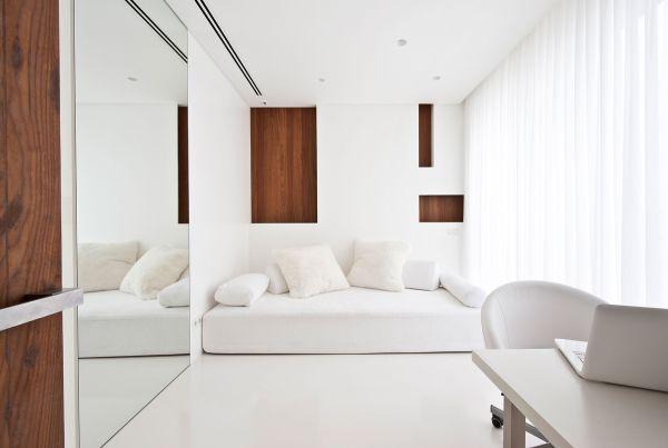 Sự kết hợp tuyệt diệu của màu trắng và chất liệu gỗ 2