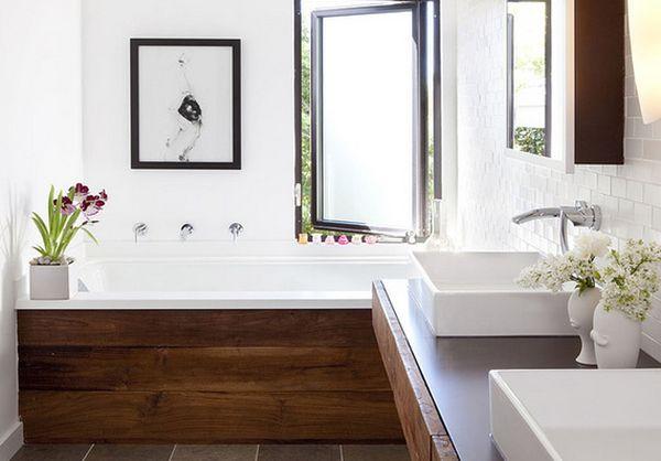Sự kết hợp tuyệt diệu của màu trắng và chất liệu gỗ 14