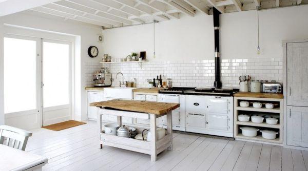 Sự kết hợp tuyệt diệu của màu trắng và chất liệu gỗ 7