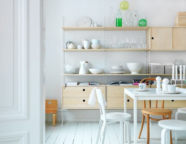 Sự kết hợp tuyệt diệu của màu trắng và chất liệu gỗ 8