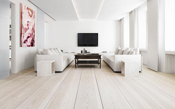 Sự kết hợp tuyệt diệu của màu trắng và chất liệu gỗ 1