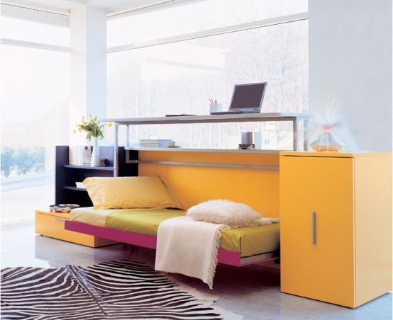 Những mẫu giường đa năng dễ đóng cho nhà chật 12