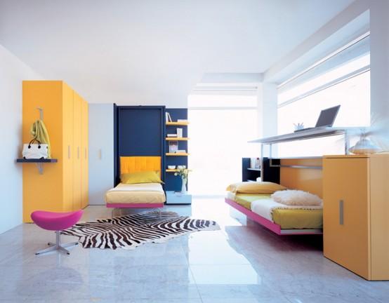 Những mẫu giường đa năng dễ đóng cho nhà chật 14