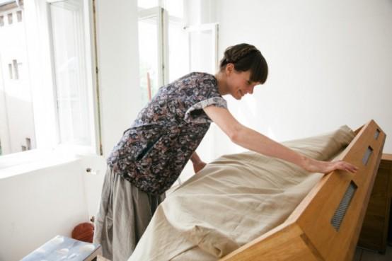 Những mẫu giường đa năng dễ đóng cho nhà chật 8