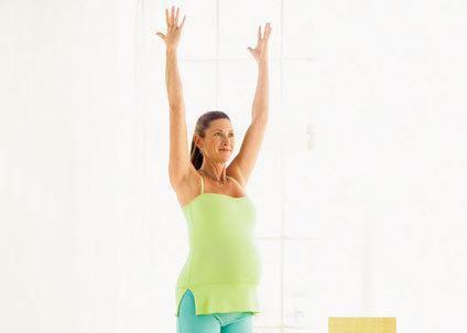 Bài tập cho mẹ bầu ở quý II và III của thai kì 5