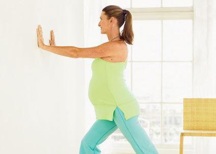 Bài tập cho mẹ bầu ở quý II và III của thai kì 6