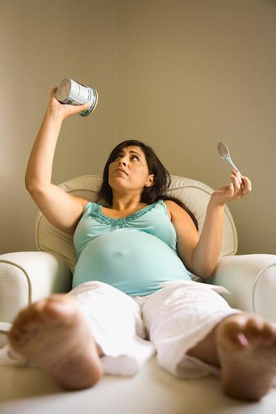 Những thay đổi lạ lùng khi mang thai 3
