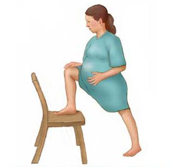 10 tư thế mẹ bầu nên biết để giảm đau khi chuyển dạ 4