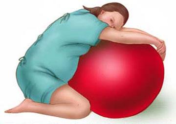 10 tư thế mẹ bầu nên biết để giảm đau khi chuyển dạ 6