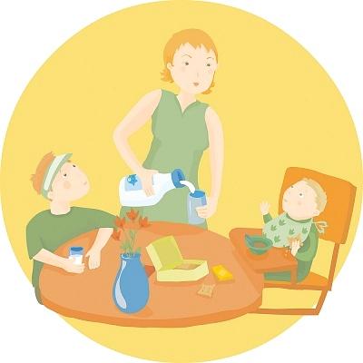 Dạy bé mẫu giáo kỹ năng tự rót nước uống 1