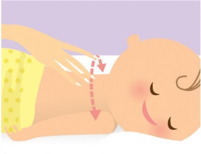 Bác sĩ Hoa Kỳ mách mẹ 6 bước massage tuyệt vời cho bé 4