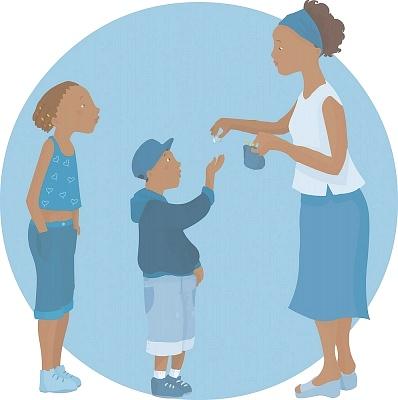 Một số trò chơi thú vị mẹ nên áp dụng để dạy bé cách tiêu tiền 1