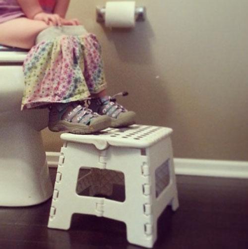 Những tình huống hài hước và đáng nhớ về việc dạy con ngồi bô 1