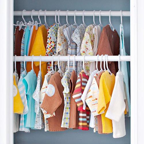 5 cách xếp gọn gàng tủ quần áo của bé 3