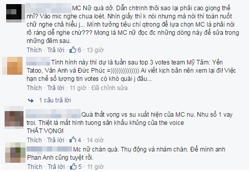 the voice mc mỹ linh 1