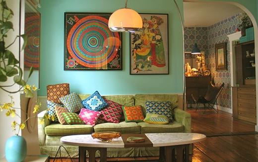5 cách trang trí phòng khách theo xu hướng retro  2