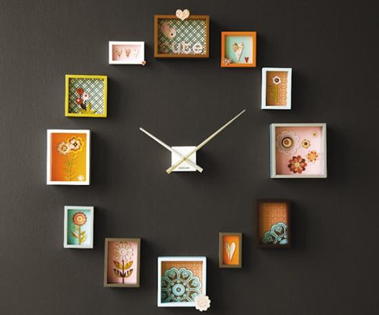 Mẹo trang trí nhà bằng những chiếc đồng hồ treo tường độc đáo 3
